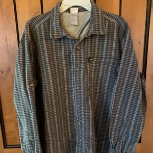 The North Face Mens Heavy Weight Cotton Flannel XL